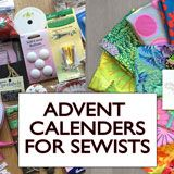 advent calenders for sewists